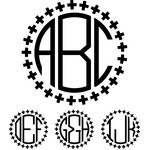 monogram basic font - plus sign