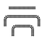 build a train track pieces