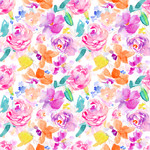 purple flower background pattern