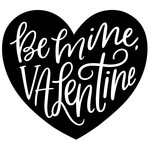 be mine, valentine heart