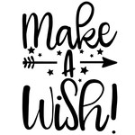 make a wish arrow quote