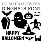 cg so halloween dingbats