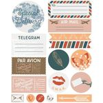 air mail sticker set