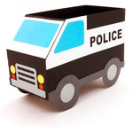 police vehicle box