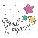 good night printable
