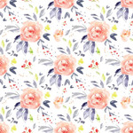 cute flower rose pattern