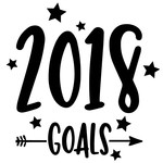 2018 goals arrow quote