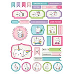 ml unicorn kitty stickers