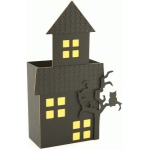 3d large halloween haunted house treat box