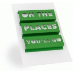 3d word art- oh the places you'll go