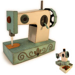sewing machine 3d box