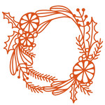 winter foliage wreath