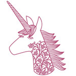 filigree unicorn