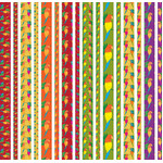 colorful parrot washi strips