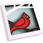 3d wall art - cardinal (2 of 2)