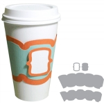 coffee cup sleeve - bracket