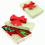 3d candy or tag box with dividers