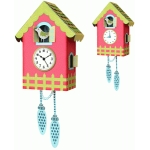 cuckoo clock with fence