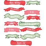 christmas banner planner stickers