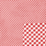red plaid christmas paper
