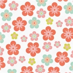 happy floral pattern