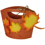 autumn leaves gift tote & tag