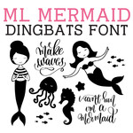 ml mermaid dingbats