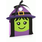 3d halloween witch tote bag