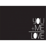 simple stories-you+me card