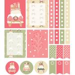 home for the holidays planner stickers