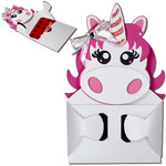 unicorn hug gift card holder