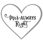 mrs always right phrase