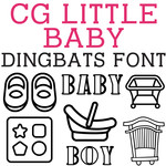 cg little baby dingbats