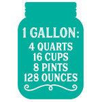 measurement conversion 1 gallon