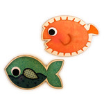 fish pair magnetic for game