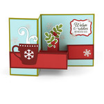 pop up box card hot cocoa