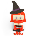 halloween witch candy hugger