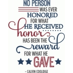 honor - reward for what gave military phrase