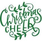 christmas cheer handlettered