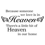heaven in our home phrase