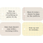chin up buttercup everyday note cards