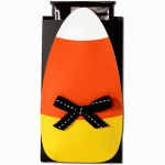 candy corn envelope pouch