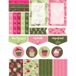 christmas cupcakes planner stickers