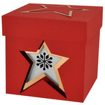 nesting star gift boxes - set of 3