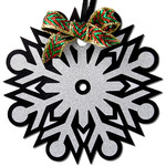 snowflake gift tag ornament