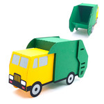 3d garbage truck box
