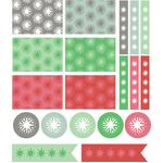 holiday star planner stickers