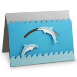 a2 jumping dolphin motion card