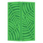 palm frond 5x7 gatefold card