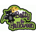 batty for halloween title pnc